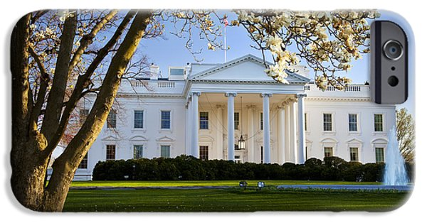 The White House IPhone Case by Brian Jannsen