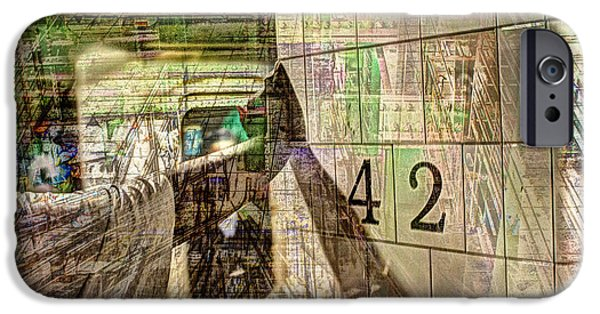 42nd Subway Collage IPhone 6s Case