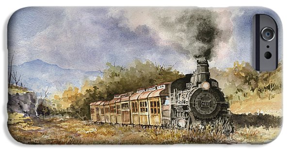 Train iPhone 6s Case - 481 From Durango by Sam Sidders