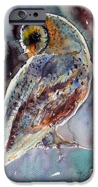 Barn Owl IPhone 6s Case by Kovacs Anna Brigitta