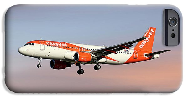 Jet iPhone 6s Case - Easyjet Airbus A320-214 by Smart Aviation