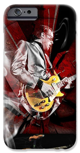 Joe Bonamassa Blues Guitarist Art IPhone 6s Case