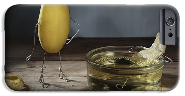Simple Things - Potatoes IPhone 6s Case by Nailia Schwarz