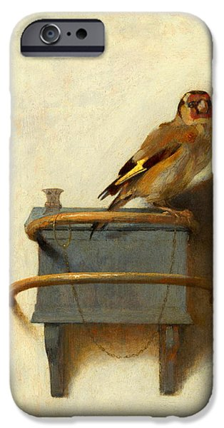 Meadowlark iPhone 6s Case - The Goldfinch by Carel Fabritius