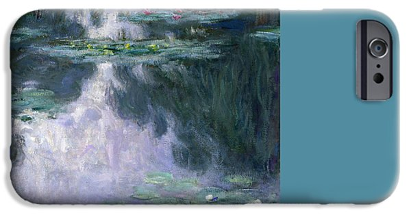 Impressionism iPhone 6s Case - Waterlilies by Claude Monet