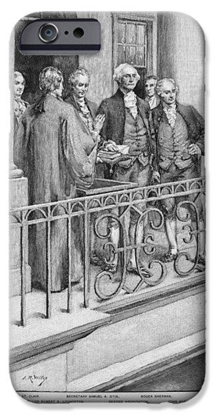 George Washington IPhone Case by Granger