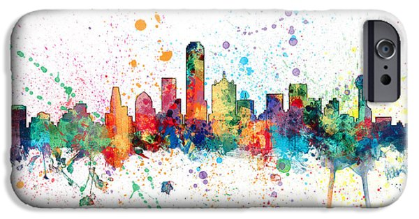 Dallas Texas Skyline IPhone 6s Case