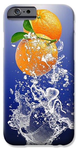 Orange Splash IPhone 6s Case by Marvin Blaine