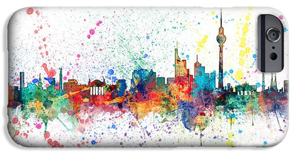 Berlin Germany Skyline IPhone 6s Case by Michael Tompsett