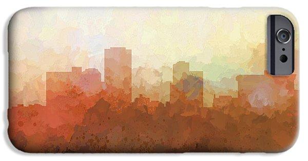 Little Rock Arkansas Skyline IPhone Case by Marlene Watson
