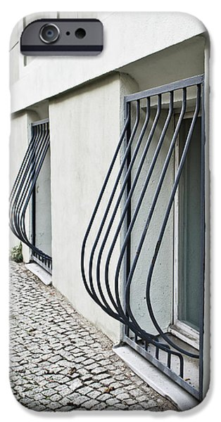 Dungeon iPhone 6s Case - Window Bars by Tom Gowanlock