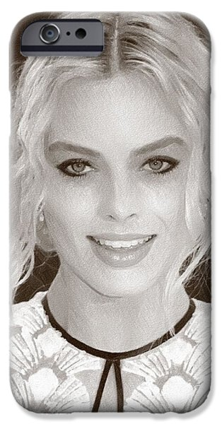 Actress Margot Robbie IPhone 6s Case by Best Actors
