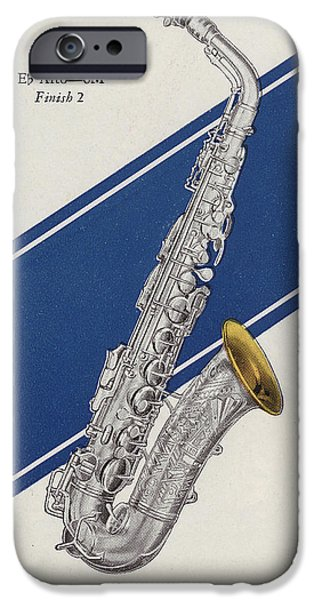 A Charles Gerard Conn Eb Alto Saxophone IPhone 6s Case by American School