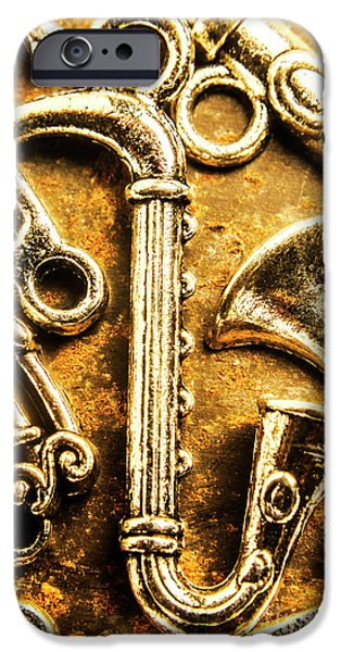 Saxophone iPhone 6s Case - A Classical Composition by Jorgo Photography - Wall Art Gallery
