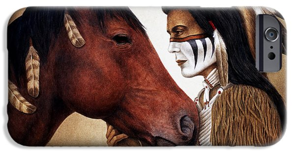 Horse iPhone 6s Case - A Conversation by Pat Erickson