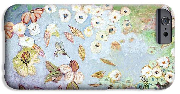 Hummingbird iPhone 6s Case - A Hidden Lagoon by Jennifer Lommers