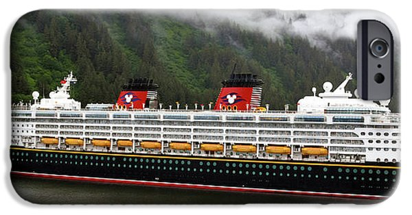 Cruise Ship iPhone 6s Case - A Mickey Mouse Cruise Ship by Barbara Snyder
