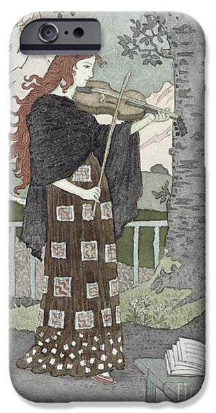 Violin iPhone 6s Case - A Musician by Eugene Grasset