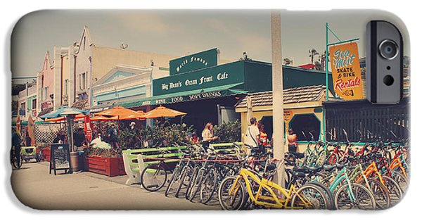 Santa Monica iPhone 6s Case - A Perfect Day For A Ride by Laurie Search