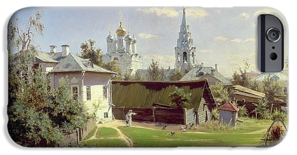 A Small Yard In Moscow IPhone 6s Case by Vasilij Dmitrievich Polenov