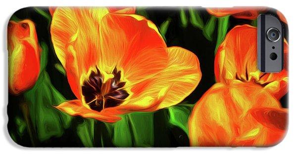 Tulip iPhone 6s Case - A Splash Of Color by Tom Mc Nemar