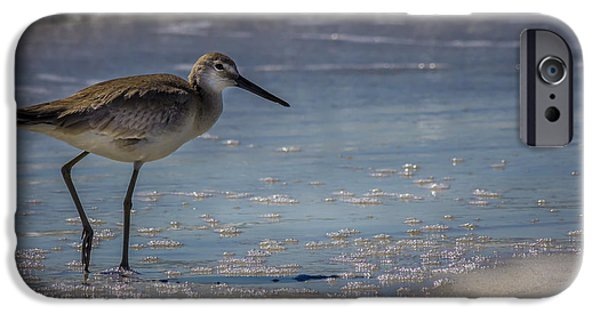 Sandpiper iPhone 6s Case - A Walk On The Beach by Marvin Spates
