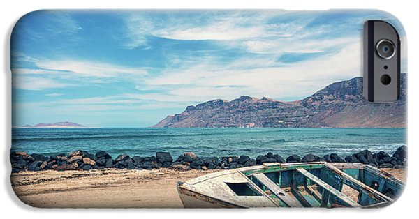 Canary iPhone 6s Case - Abandoned Boat by Delphimages Photo Creations