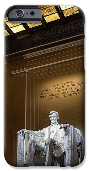 Abraham Lincoln IPhone 6s Case by Andrew Soundarajan