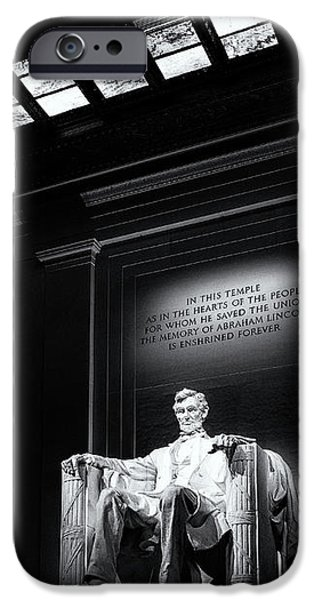 Abraham Lincoln Seated IPhone 6s Case by Andrew Soundarajan