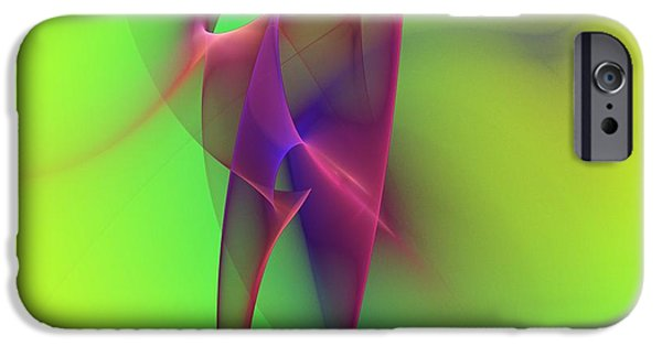 Fractal iPhone 6s Case - Abstract 091610 by David Lane