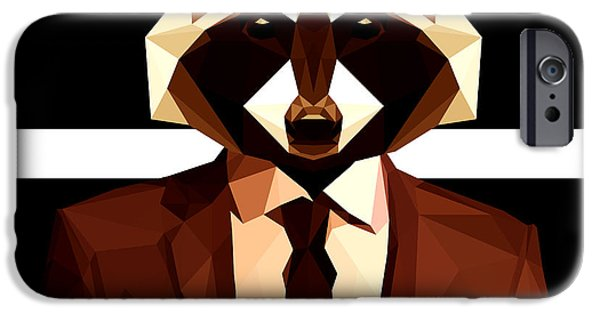 Abstract Geometric Raccoon IPhone 6s Case by Gallini Design