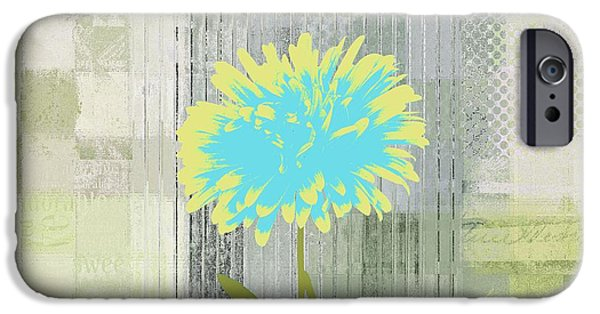 Flowers iPhone 6s Case - Abstractionnel - 29grfl3c-gr3 by Variance Collections