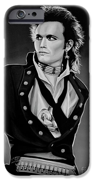 Ant iPhone 6s Case - Adam Ant Painting by Paul Meijering