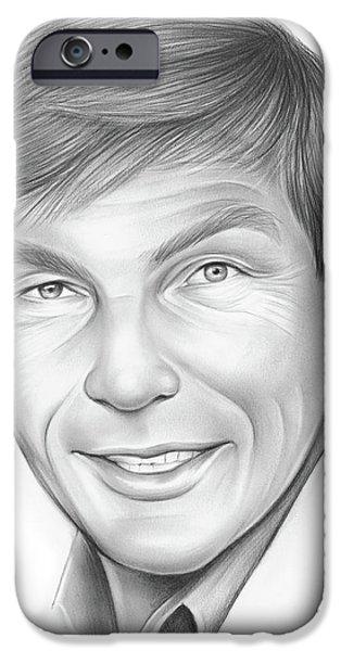 Pencil iPhone 6s Case - Adam West by Greg Joens