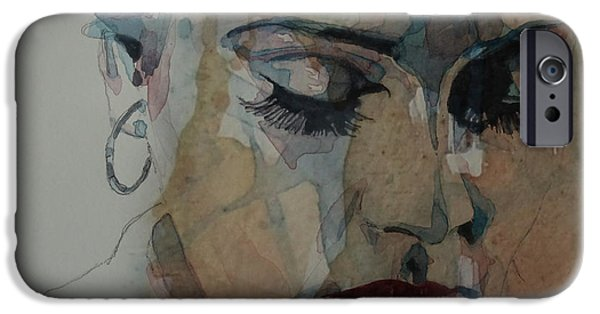 Adele - Make You Feel My Love  IPhone 6s Case by Paul Lovering