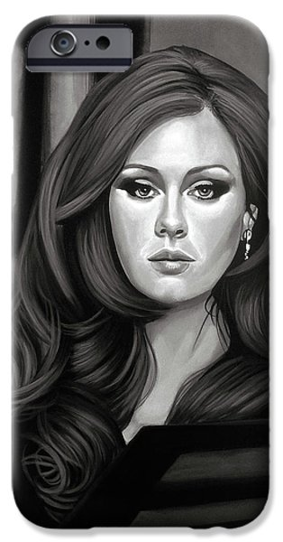 Adele Mixed Media IPhone 6s Case by Paul Meijering