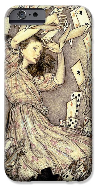 Adventures In Wonderland IPhone 6s Case by Arthur Rackham