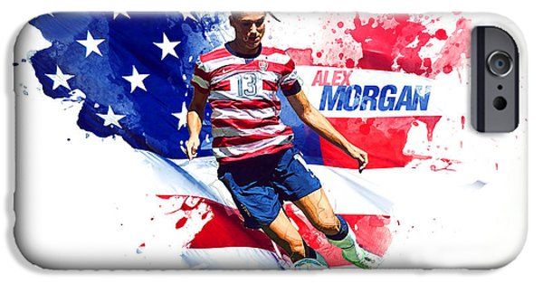 Alex Morgan IPhone 6s Case by Semih Yurdabak