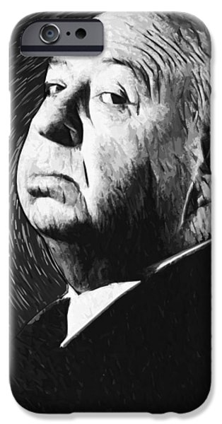 Alfred Hitchcock IPhone 6s Case by Taylan Apukovska