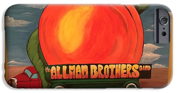 Allman Brothers Eat A Peach IPhone 6s Case