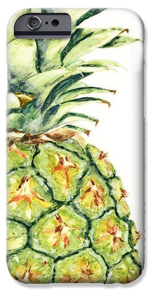 Pineapple iPhone 6s Case - Aloha Again by Marsha Elliott