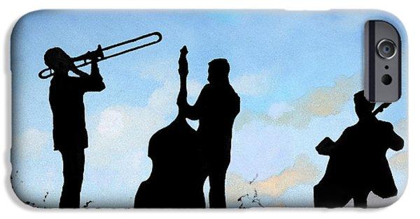 Altro Trio IPhone Case by Guido Borelli