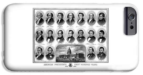 Capitol Building iPhone 6s Case - American Presidents First Hundred Years by War Is Hell Store