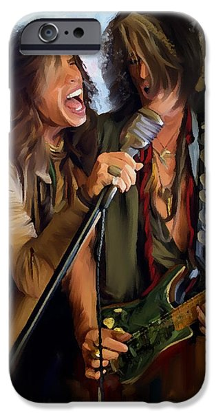 American Rock  Steven Tyler And Joe Perry IPhone 6s Case