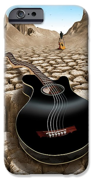 Buzzard iPhone 6s Case - An Acoustic Nightmare 2 by Mike McGlothlen