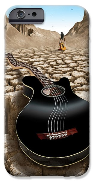 An Acoustic Nightmare 2 IPhone 6s Case by Mike McGlothlen