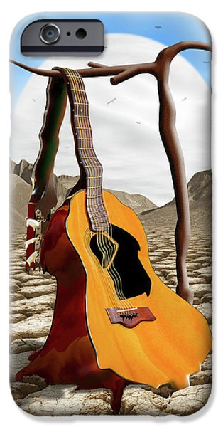 Buzzard iPhone 6s Case - An Acoustic Nightmare by Mike McGlothlen