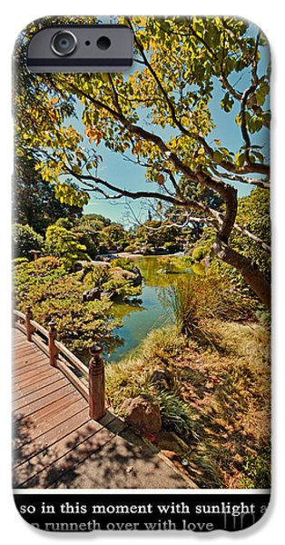 And So In This Moment With Sunlight Above IPhone 6s Case by Jim Fitzpatrick