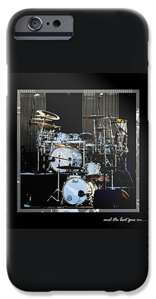 Drum iPhone 6s Case - And The Beat Goes On.... by Holly Kempe
