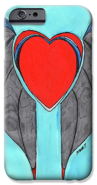 Angel Heart IPhone 6s Case by Ronald Woods
